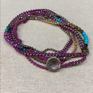 Chloe + Isabel Jaipur Multi-Wrap Bracelet.